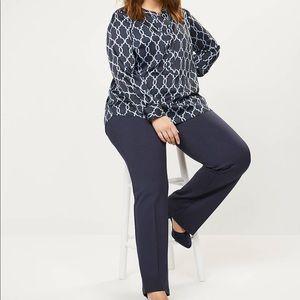 Lane Bryant Pants & Jumpsuits - Lane Bryant Ponte Knit Trouser NWT Size 18/20